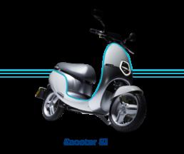 Ecooter E1 100% elétrica
