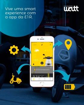 app ecooter E1R